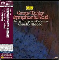 CLAUDIO ABBADO-MAHLER: SYMPHONY NO.6-JAPAN MINI LP SHM-SACD Ltd/Ed K29