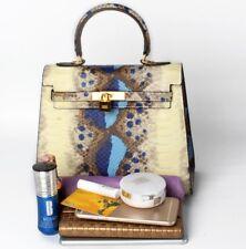 Women luxury Celebrity Kelly genuine Leather Bag Tote Satchel Shoulder Handbag