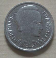 5 FRANCS BAZOR ditsBEDOUCETTE1933 SPL( grand ècartement )état  RARE cote 75 euro