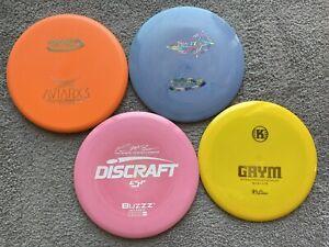 ESP Buzzz, AviarX3, Star TL, Grym - Barely Used Disc Golf Lot Starter Set No Ink