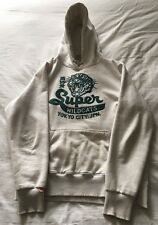 Men's Superdry White Hoody Size L Large