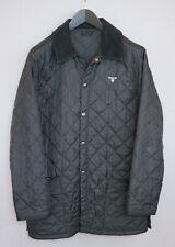 Men Barbour Jacket Quilted Casual Black Waterproof M ZGA844