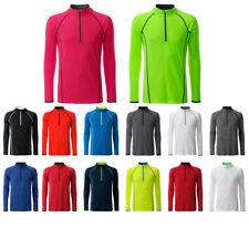 Herren langarm Funktionsshirt T-Shirt Longsleeve atmungsaktiv feuchtigkeitsregul