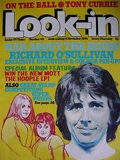 LOOK-IN MAGAZINE 9TH NOV 1974 - RICHARD O'SULLIVAN - QUEEN - MIKE OLDFIELD