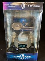 Star Trek Champions 1998 Limited Edition USS Enterprise Figure Numbered! R1