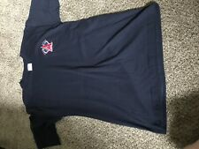 Vintage Anaheim Angles California T Shirt All Sport Large Gently Used Navy Blue