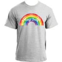 Rainbow T-Shirt I Thank You I 2020 Stay Home Social Distancing - Stay Safe Tee