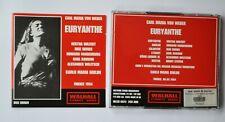 Carl Maria von Weber - Euryanthe (2005) 2*CD set (8/5/54 radio broadcast)