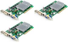 LOT OF (3) NEW IN BOX Video Cards Sparkle NVIDIA GeForce FX 5200 AGP 256MB DDR