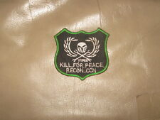VIETNAM WAR PATCH-RT VIPER, 5th SFG, KILL FOR PEACE PATCH