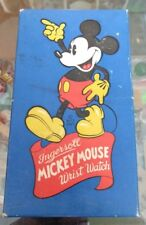 Vntg Disney Ingersoll Mickey Mouse Wristwatch Box Only, No Watch Included! 1935!