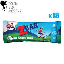 CLIF KID ZBAR - Organic Energy Bar - Iced Oatmeal Cookie - (1.27 Ounce Snack...