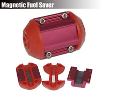 Universal Magnetic Power Cell Gas Oil Fuel Saver Performance JDM Red Fit All Car