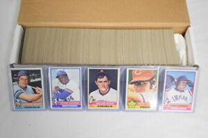 1976 Topps Baseball Complete Set Dennis Eckersley Rookie Card AG368