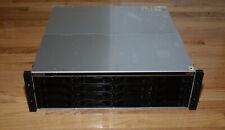 Promise Technology VessRaid 1840i Storage Array 16x Hdd Caddies 4 iScsi Ports