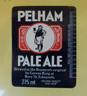VINTAGE BRITISH BEER LABEL - GREENE KING BREWERY, PELHAM PALE ALE 275 ML
