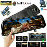 10 inch TOUCH SCREEN Camera HD 1080P Dash Cam Night Vision Video DVR Recorder