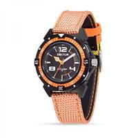Orologio SECTOR EXPANDER 90 R3251197049 Pelle Cordura Arancione Giallo Nero