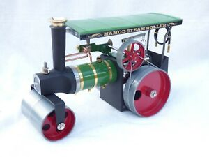 Mamod SR1a Steam Roller Long Boiler Version with Canopy