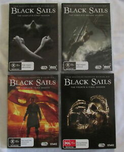 Black Sails Seasons 1 - 4 Box Sets
