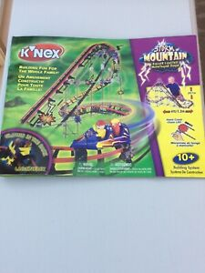 Knex Storm Mountain roller coaster set - Boxed, used