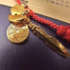 JAPANESE OMAMORI Amulet SHIRASAKI Shrine Three sacred treasures Sword MAGATAMA