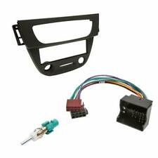 Renault Megane Car CD Stereo Radio Fascia Facia Plate Adaptor Black Fitting Kit