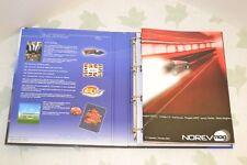 """Norev 2 classeurs """"Norev Mag"""" & """"Nos Rêves d'Automobiles"""" années 2000 - 2006."""