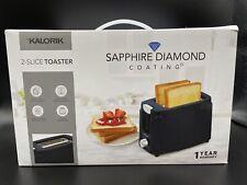 Kalorik 2-Slice Toaster Sapphire Diamond Coating