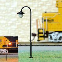 S813- 10 Stück Straßenlampen 5,5cm mit LED 12-19V  Parkleuchte Bogenleuchte