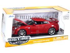 JADA BIGTIME 96811 2009 09 NISSAN SKYLINE GT-R GTR R35 1/24 DIECAST RED