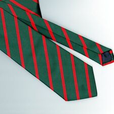 Regimental Tie Polyester Stripe THE KINGS ROYAL RIFLE CORPS. KRRC
