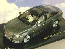 Jaguar XJ 2011 Stratus Grey Metallic IXO MOC149 1 43