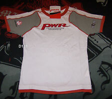 PWR Racing Holden V8 Supercar Ladies White Printed T Shirt Size M New