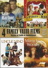 4 Family Value Films (DVD, 2012, 2-Disc Set)
