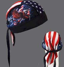 EAGLE FLAG HEAD WRAP BIKER CAP