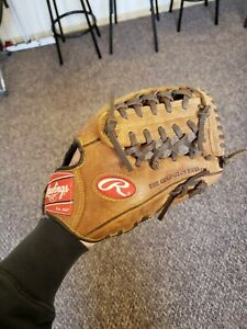 Rawlings players preferred gold glove leather Baseball 11.5 glove R-H P1154 YTH