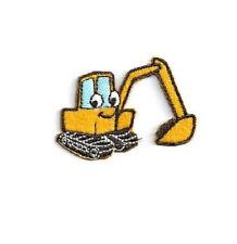 Backhoe- Excavator - Truck - Construction - Children's Design - Iron On Patch