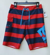Red DC Voltage Boardshorts New