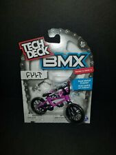 Tech Deck BMX Series 11 CULT Purple Bike Black Tires In Hand!