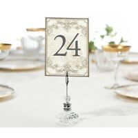 Table Numbers Wedding 1-24 Gold Vintage Reception Decorations Signs