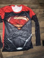 superman 3xl Long Sleeves Compression Shirt