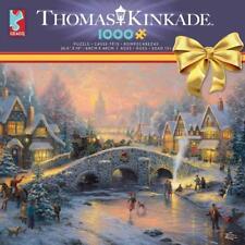CEACO THOMAS KINKADE HOLIDAY JIGSAW PUZZLE SPIRIT OF CHRISTMAS 1000 PCS #3328-40