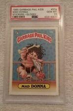 1985 Garbage Pail Kids #50A Mad Donna PSA 10