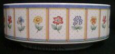 """VILLEROY & BOCH china JULIE pattern Round Vegetable Serving Bowl @ 9 1/2"""""""