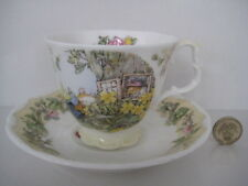 ROYAL DOULTON BRAMBLY HEDGE  YEAR 1996 DUO CUP AND SAUCER ENGLISH BONE CHINA 1st