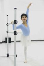 WYZworks Double Ballet Barre Yoga Stretch Dance Training Bar 4 Feet Lightweight