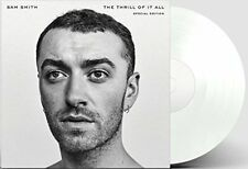 """Sam Smith - The Thrill Of It All -  Special Edition  2 x 12"""" WHITE VINYL LP's"""