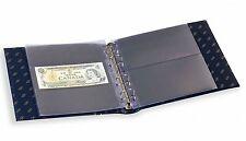Leuchtturm NUMIS Banknotenalbum im Classic-Design blau