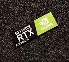 Nvidia GEFORCE RTX 3060 Ti PC Logo Label Decal Case Sticker Laptop Badge 481g